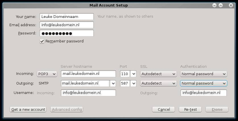 mailaccount